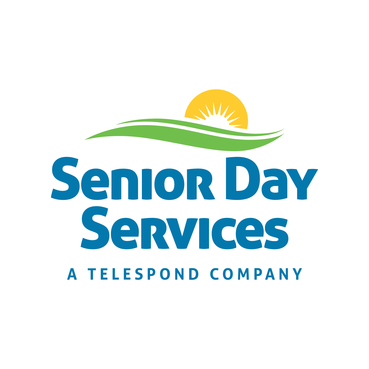 Senior Day Services -- A Telespond Company -- Logo Square